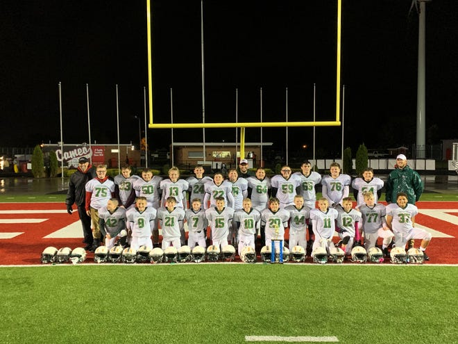 Oak Harbor's sixth-grade football team earned a league championship.