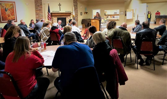 Main Street Port Clinton holds a Downtown Business and Building owners Roundtable at Knights of Columbus.