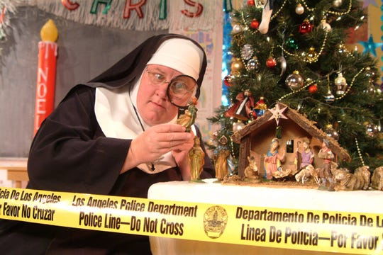 "The comedy ""Sister's Christmas Catechism: The Mystery of the Magi's Gold"" will be presented Dec. 13 at Southern Door Community Auditorium."