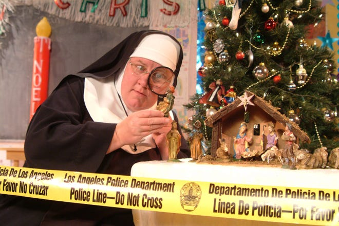 """The comedy """"Sister's Christmas Catechism: The Mystery of the Magi's Gold"""" will be presented Dec. 13 at Southern Door Community Auditorium."""