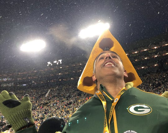 Australian Green Bay Packers fan Jaz Singh dreamed of seeing snowfall at Lambeau Field. He got his wish on Nov. 10, 2019, when the Packers hosted the Carolina Panthers.