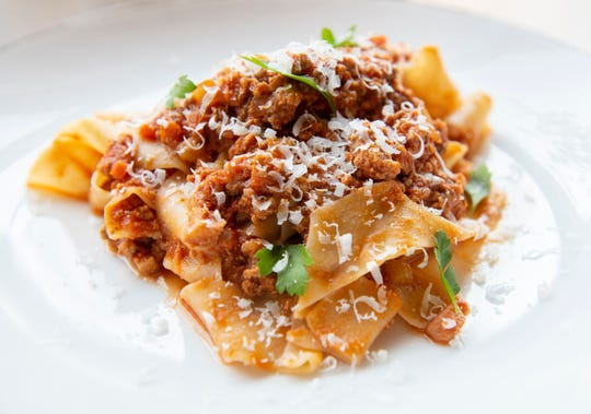 Pappardelle with Bolognese from Limoncello