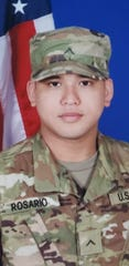 Private Second Class (E-2) Shane F. Rosario graduated Army basic training on Aug. 29 and Advanced Individual Training on Oct. 29. He is stationed at Fort Bliss Texas as a part of the 16th Ordnance Battalion. He is the son of Frank M. Rosario and Juliann A. Lizama.