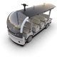 PerceptIn, a visual intelligence company, announced on Thursday, Nov. 21, that it's moving its global headquarters from Santa Clara, California, to Fishers, Indiana. A rendering of PerceptIn's DragonFly Bus is pictured here.