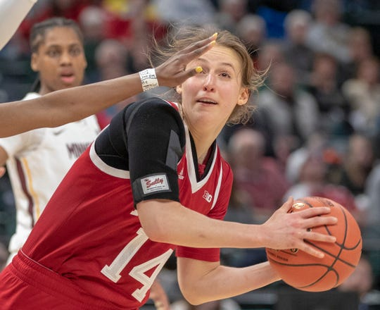 IU's Ali Patberg is averaging 12.0 points and leads the team with 22 assists through three games this season.