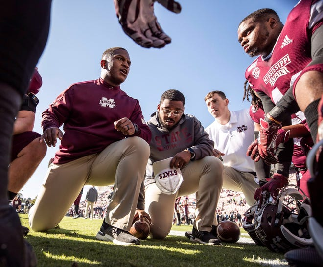 Mississippi State linebackers coach Chris Marve has learned to mesh two of the most important factors in his life: football and faith.