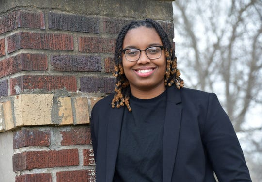 Jade Allen, Lane College senior communications major, is the highest-ranking student in her graduating class. She filmed a documentary and produces shows on campus.