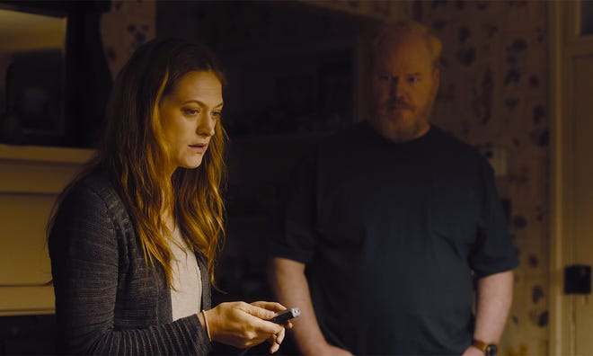 """Marin Ireland and Jim Gaffigan in a scene from """"Light From Light,"""" which was filmed in Knoxville."""