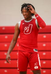 Jeffersonville's Tre Coleman, one of Southern Indiana's top high school players, will help lead the Red Devils in the 2019-2020 basketball season. Nov. 20, 2019