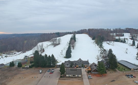 The slopes at Snow Trails were covered in fresh powder and ready for the earliest opening weekend in the ski resort's history.