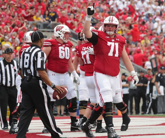 Cole Van Lanen started the Badgers first 10 games this season.