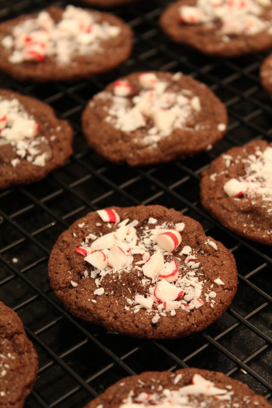 Double Chocolate Peppermint Cookies offer several easy tasks that kids can carry out.