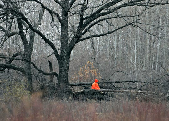 Following hunting safety rules, such as wearing hunter orange in the woods, can help protect hunters.