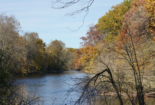 The Milwaukee River flows through Riveredge Nature Center in Saukville