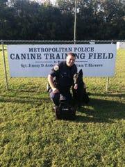 Canine Officer John Gilpin and Partner Braxx
