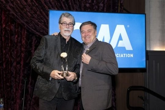 Randy Owen was presented with the CMA Foundation's Humanitarian Award on Tuesday, Nov. 19.