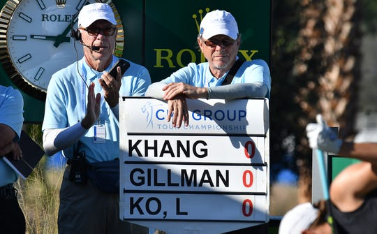 The 2019 CME Group Tour Championship at the Tiburón Golf Club in Naples, Thursday, Nov. 21, 2019. CHRIS TILLEY/ SPECIAL TO THE NAPLES DAILY NEWS