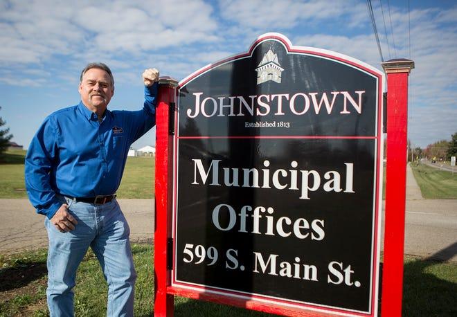 Jack Liggett, Assistant Village Manager of Johnstown.