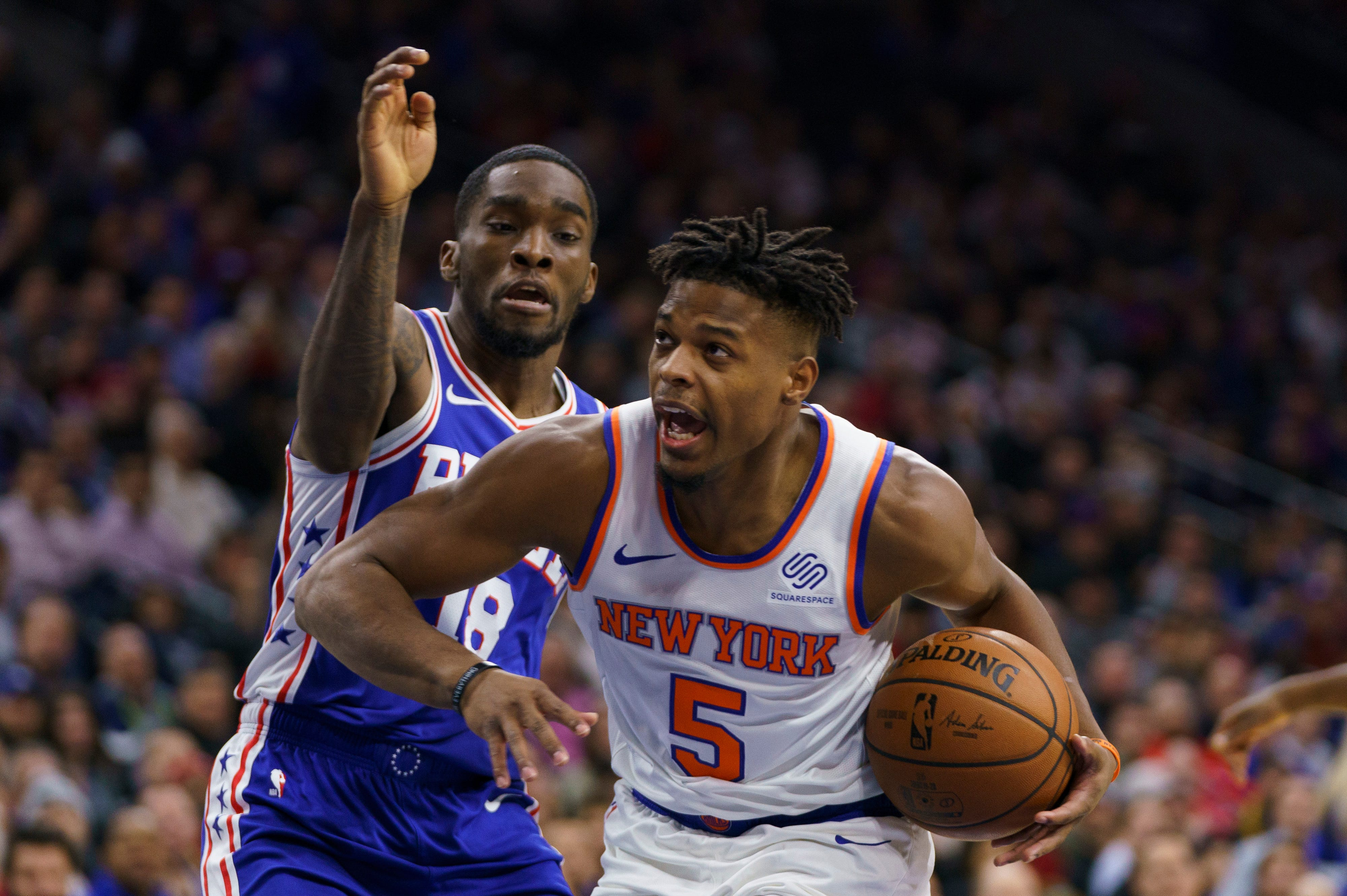 Frank Ntilikina is playing freely for New York Knicks, and the results are clear