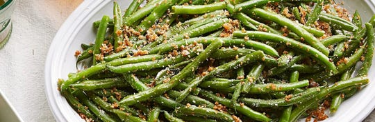 An update to the traditional green bean casserole, this lighter version will be your new favorite.