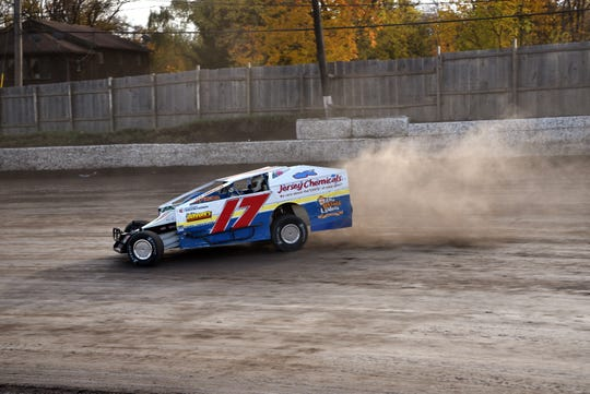 John Criscione at Eastern States held at Orange County Speedway in Middletown, NY on October 26, 2019. Criscione fell in love with racing coming to watch races at Orange County Speedway with his father when he was a young boy.