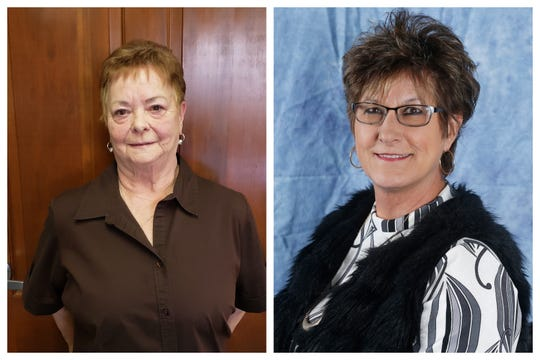 Left: Bonnie Howell and right: Terrie Todd
