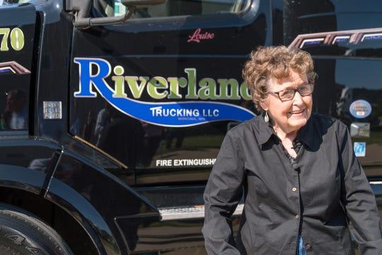 Louise Spencer enjoyed driving an 18-wheeler.