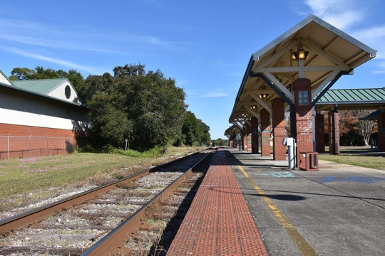 Pensacola's old Amtrak station has been vacant since it was damaged by Hurricane Ivan in 2004.