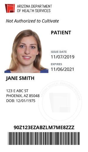 Electronic Medical Marijuana Card