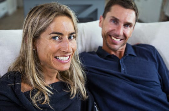 Sophie Chevrier and her husband, Philippe, are elite triathletes and will compete in the Ironman Arizona on November 24th.