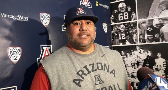 The Arizona Wildcats have fired defensive line coach Iona Uiagalelei, a little more than two days before Saturday's showdown with No. 7 Utah.
