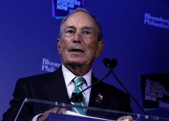 Michael Bloomberg, exalcalde de Nueva York