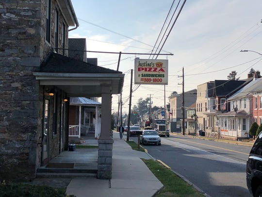 Scott Moyer has been running a Newmanstown staple, Justino's Pizza, since 2013.