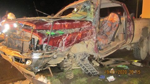 A traffic crash in Croswell Wednesday evening resulted in the serious injury of two Croswell residents.