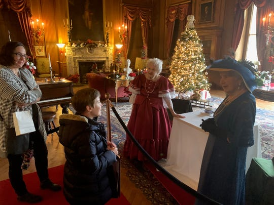 """The """"Holiday Whodunit"""" will be held every Sunday in December at Staatsburgh State Historic Site."""