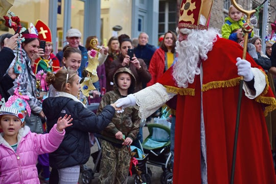 The Sinterklaas parade and other events are set for Nov. 30 at various venues along theKingston waterfront.