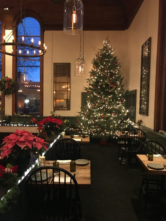 Terrapin restaurant and bistro is decked out for holiday dining.
