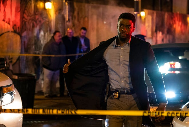 """Chadwick Boseman stars in """"21 Bridges."""" The movie is playing at Regal West Manchester, Queensgate Movies 13 and R/C Hanover Movies 16."""
