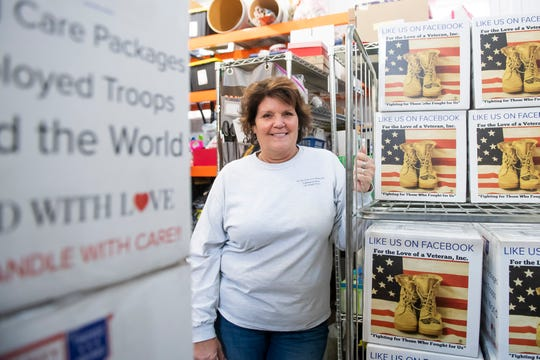 Christine Waltz is the founder of For the Love of a Veteran, Inc., a Hanover-based nonprofit organization serving those who serve. Each month, the all-volunteer organization puts together and sends out over 5,000 personalized care packages to active military members all around the world. In addition, the organization assists veterans suffering from PTSD and the families of those service members who have taken their own lives.