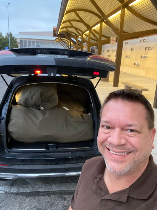 San Angelo philanthropist Terry Mikeska prepares for departure on his 54th mission trip to Nepal, carrying 500 pounds of humanitarian supplies.