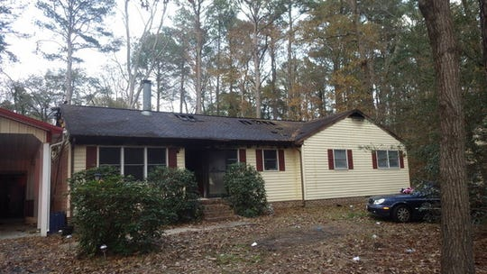 A home at Quail Ridge Run in Salisbury suffered about $150,000 in damages as a result of a fire on Wednesday, Nov. 20, 2019.