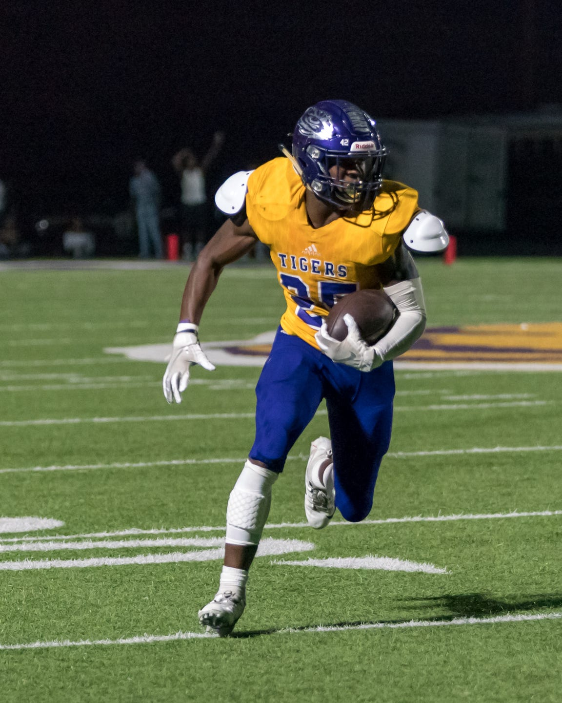 Logansport running back Xavier Simpson set a school record with touchdowns runs of 97 and 91 yards in a single game this season.