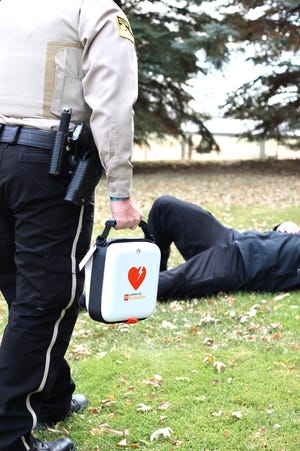 The Minnehaha County Sheriff's Office will receive 25 AEDs as part of the award.
