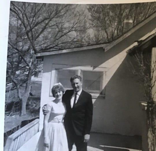 Janet Heatherly and her husband, J.L. Bennett