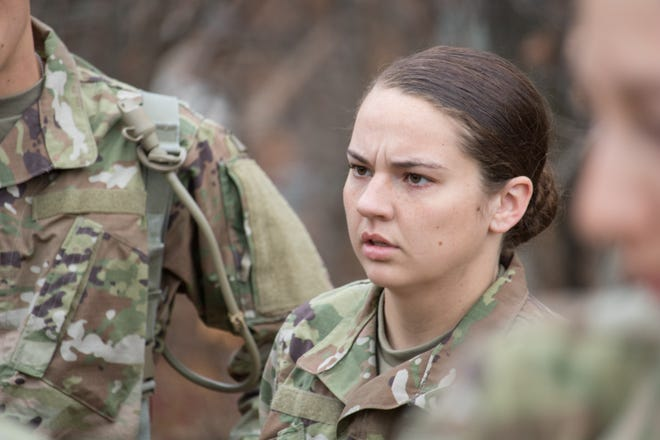 Pfc. Katelyn Castro arrived at Fort Leonard Wood from her hometown of Joplin, Mo., for Basic Combat Training on Oct. 28.