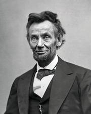 President Abraham Lincoln, circa 1865l
