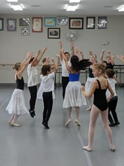 "Pas de Vie dancers rehearse for upcoming production of ""The Nutcracker."""