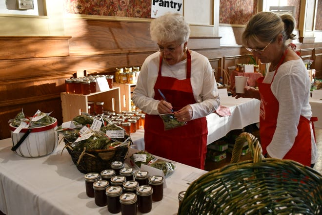 The St. John's Holiday Market is held on the Saturday before Thanksgiving.