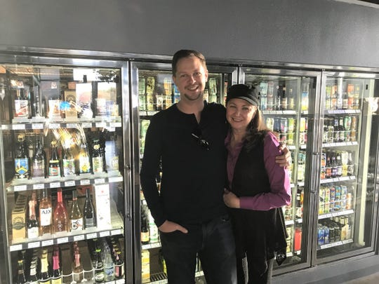 Justin Gibson and his mother Ann Miller are the owners of Aurellia's Bottle Shop & Brewhouse. The brewhouse has a restaurant, offers craft beer and sells wine as well.
