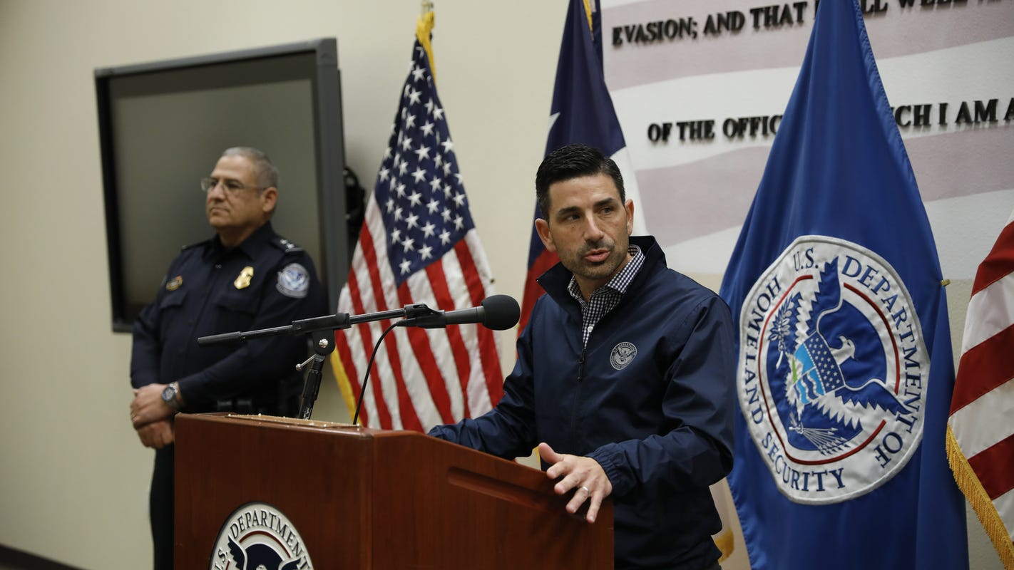 DHS acting chief Chad Wolf visits El Paso, says defunding MPP would be 'critical mistake'